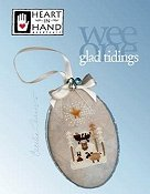 Heart In Hand Needleart - Wee One - Glad Tidings THUMBNAIL