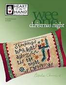 Heart In Hand Needleart - Wee One - Christmas Night