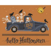 Sue Hillis Designs - Hello Halloween