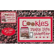 Sue Hillis Designs - Post Stitches - Cookies