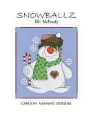 Carolyn Manning Designs - Snowballz - Mr. McFrosty