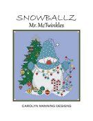 Carolyn Manning Designs - Snowballz - Mr. McTwinkles THUMBNAIL