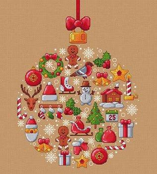 Noel Christmas.Les Petites Croix De Lucie Boule De Noel Christmas Ball