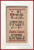 Country Cottage Needleworks - Santa's List THUMBNAIL