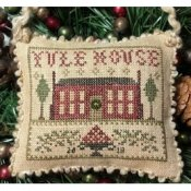 Homespun Elegance - 2018 Sampler Ornament - Yule House