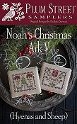 Plum Street Samplers - Noah's Christmas Ark V - Hyenas and Sheep THUMBNAIL