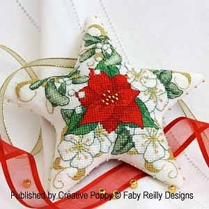 Faby Reilly Designs - Poinsettia Star MAIN