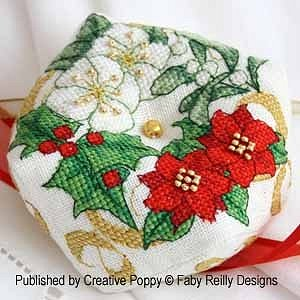 Faby Reilly Designs - Christmas Biscornu MAIN