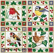 Lesley Teare - Christmas Bird Cards THUMBNAIL