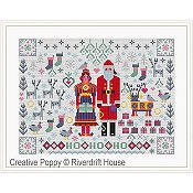 Riverdrift House - Santa & Mrs. Claus Folkies THUMBNAIL