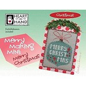 Heart In Hand Needleart - Merry Making Mini - Merry Christmas_THUMBNAIL