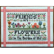 Rosewood Manor - Friends Are Flowers (with buttons) THUMBNAIL