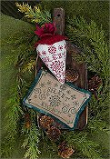 Erica Michaels - The Linen Berry Collection - Caroling Berries - Silent Night THUMBNAIL