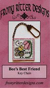 Frony Ritter Designs - Bee's Best Friend Key Chain THUMBNAIL