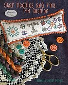 Jeannette Douglas Designs - Star Needles And Pins Pincushion