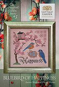 Cottage Garden Samplings - Songbird's Garden 5 - Bluebird of Happiness THUMBNAIL