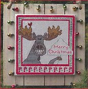 Designs By Lisa - Christmas Moose Greetings THUMBNAIL