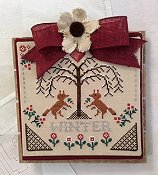 Annie Beez Folk Art - Sheltering Tree - Winter THUMBNAIL