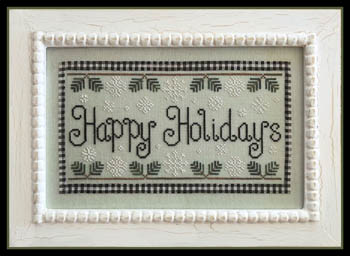 Country Cottage Needleworks - Happy Holidays