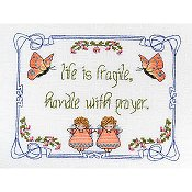 MarNic Designs - Life Is Fragile ~ Handle With Prayer THUMBNAIL