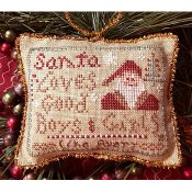 Homespun Elegance - Merry Noel Collection - Avery's Ornament - Good Boys & Girls_THUMBNAIL