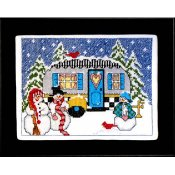 Bobbie G Designs - Winter Camper