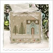 Country Cottage Needleworks - Glitter Village - Glitter House 3 THUMBNAIL