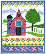 Imaginating - Barn With Spring Quilts 3200 THUMBNAIL