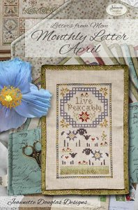 Jeannette Douglas Designs - Letters From Mom - Monthly Letter April MAIN