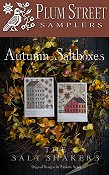 Plum Street Samplers - Autumn Saltboxes THUMBNAIL