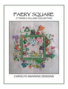 Carolyn Manning Designs - Faery Square - It Takes A Village Collection MAIN
