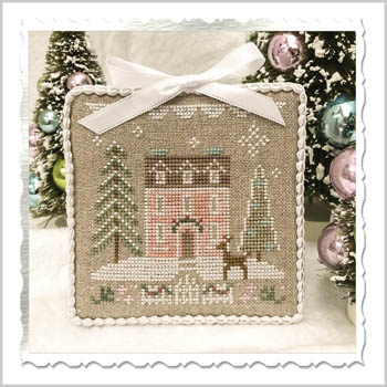 Country Cottage Needleworks - Glitter Village - Glitter House 4 MAIN