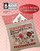 Heart in Hand Needleart - Bird In The Hand - Valentine's Day THUMBNAIL