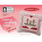 Heart In Hand Needleart - Merry Making Mini - Love Blooms_THUMBNAIL