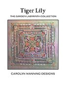 Carolyn Manning Designs - The Garden Labyrinth Collection - Tiger Lily THUMBNAIL
