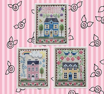Waxing Moon Designs - Spring House Trio MAIN