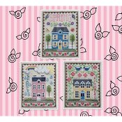 Waxing Moon Designs - Spring House Trio THUMBNAIL