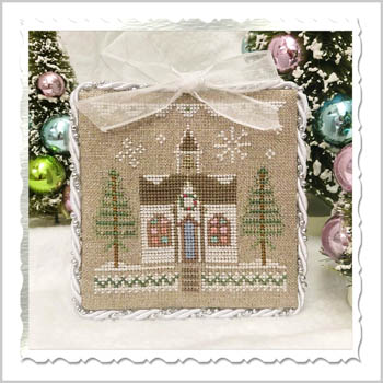 Country Cottage Needleworks - Glitter Village - Glitter House 5 MAIN
