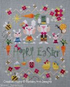 Barbara Ana Designs - Hoppy Easter THUMBNAIL