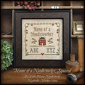 Little House Needleworks - Home of a Needleworker, Squared Chart Pack THUMBNAIL