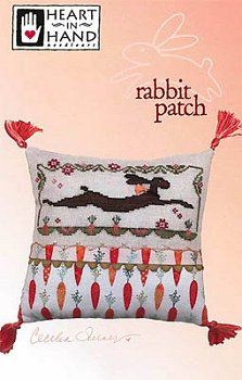 Heart In Hand Needleart - Rabbit Patch MAIN
