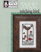 Heart In Hand Needleart - Wee One - Stitching Bird THUMBNAIL