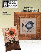 Heart In Hand Needleart - Throwback: Checkerbird THUMBNAIL