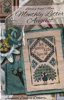 Jeannette Douglas Designs - Letters From Mom - Monthly Letter August MAIN