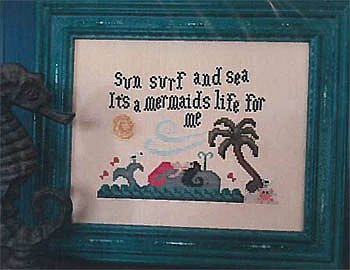 Vintage NeedleArts - It's A Mermaids Life For Me MAIN