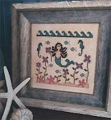 Vintage NeedleArts - In A Mermaid's Garden THUMBNAIL