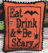 Needle Bling Designs - Eat - Drink - Be Scary (Halloween Mini Series 5 of 7) THUMBNAIL
