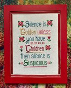 Pickle Barrel Designs - Silence Is Golden THUMBNAIL