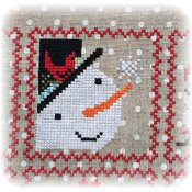 Annie Beez Folk Art - Snowy 9 Patch - Part 2 THUMBNAIL