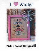 Pickle Barrel Designs - I Heart Winter THUMBNAIL